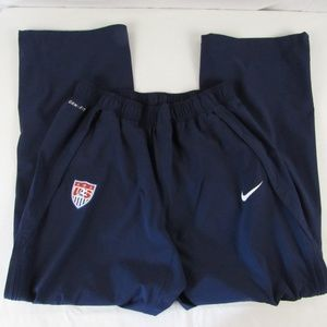 Nike Team USA Soccer Storm Fit Athletic Pants Mens